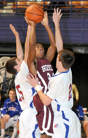 Woodrow Wilsons vs Morgantown during The Big Atlantic Classic at the Beckley Convention Center. Photo by Chris Tilley