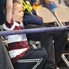 Jack Billeter, 4, son of Devin and Tammy Billeter, of Shady Spring, watch the Big Atlantic Classic game  between Park Middle and Shady Spring Middle schools at the Beckley-Raleigh County Convention Center.<br /> Rick Barbero/The Register-Herald