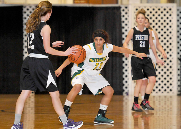 Greenbrier East vs  Preston Friday afternoon during The Big Atlantic Classic at the Beckley Convention Center. Photo by Chris Tilley