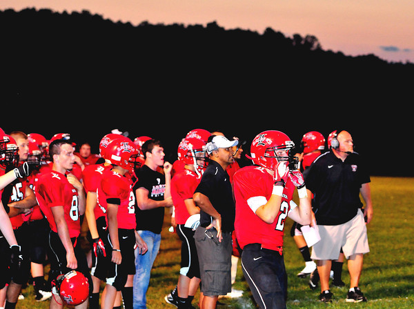 Libery vs Westside at Liberty High School Friday, August 24, 2012.<br /> Chris Tilley/The Register-Herald