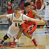 Westside, vs Bridgeport during the quarter final game of the Boys Class AA State Tournament game at the Charleston Civic Center.<br /> Rick Barbero/The Register-Herald