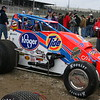 USAC Sprint Cars and UMP Modifieds, Eldora Speedway, Rossburg OH, April 1, 2006 : 2 galleries with 25 photos
