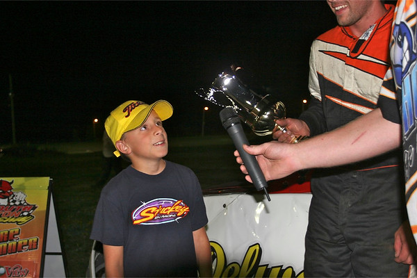 South Buxton Raceway, Merlin, ON, August 15, 2009