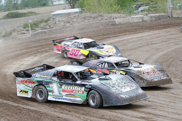 South Buxton Raceway, Merlin, ON, May 12, 2012