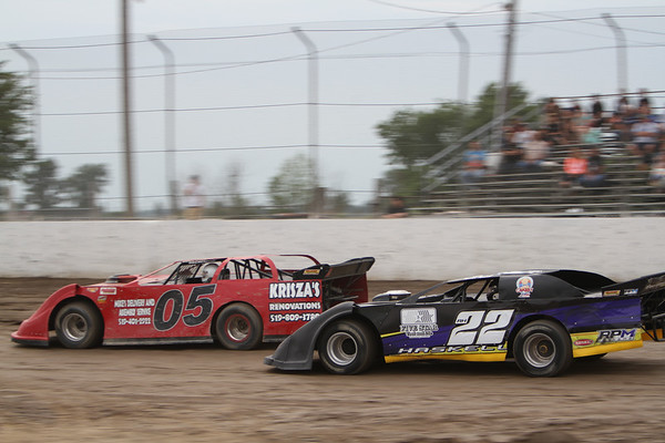 South Buxton Raceway, Merlin, ON, July 12, 2014