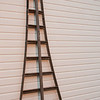 A 3-legged ladder used in the cherry orchards of northern Michigan.