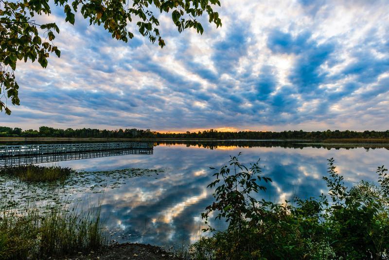 Lake Sixteen, Orion, Michigan