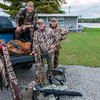 Duck hunting buddies, Oscoda, Michigan