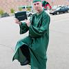 Eric at Oakland Community College Graduation Ceremony, The Palace of Auburn Hills (Michigan)