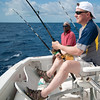 Dave fishing in the Bahamas
