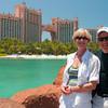 Pam and Dave at Atlantis, Paradise Island, Bahamas