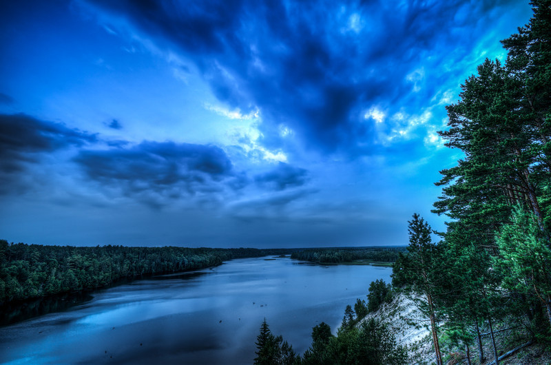 Loud Dam Pond, Au Sable River, Michigan