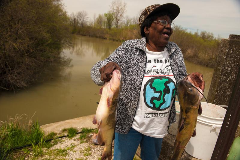 Fishing on Turtle Creek
