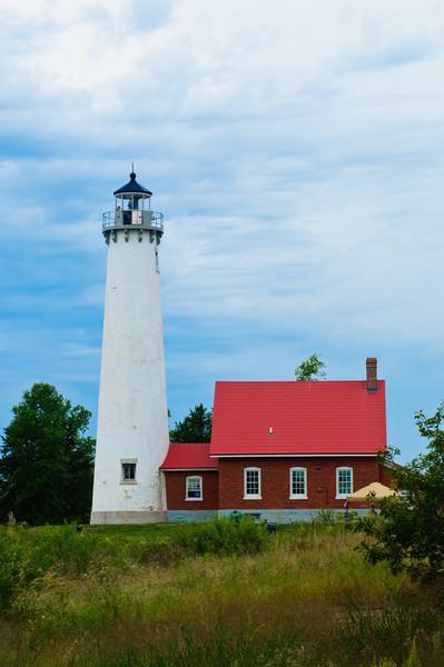 Tawas Lighthouse, Tawas Bay, Michigan