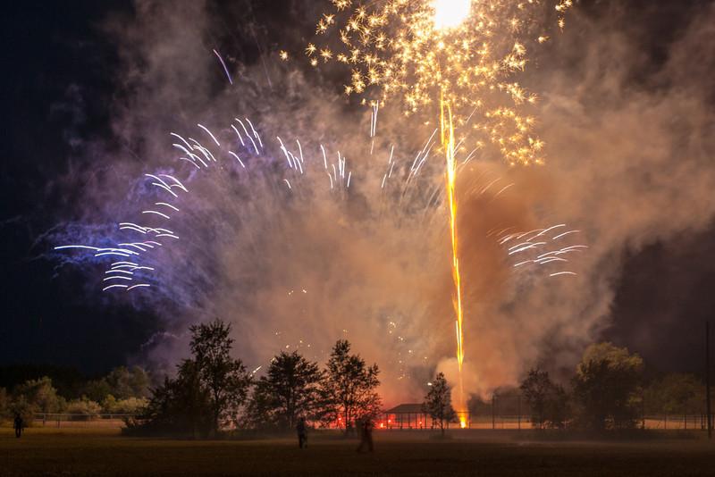 Fireworks, Atlanta, Michigan