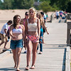 Girls on the boardwalk, Oscode, Michigan
