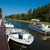 "In the past this canal between Lakes Cadillac and Mitchell was called ""Clam Lake Canal""."