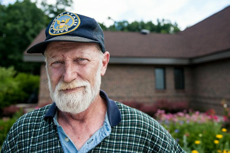 Lee H, retired USN, Vietnam Veteran, Navy SEAL.  4th of July weekend, 2014.