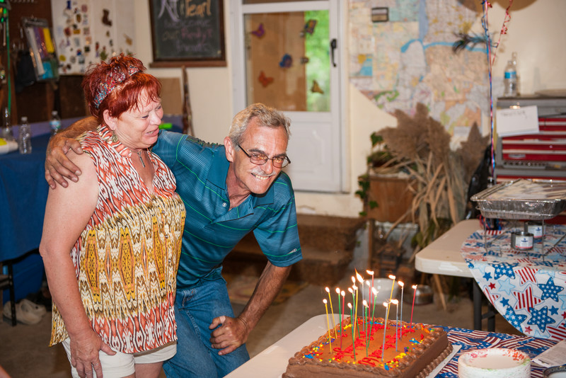 Lynn and Jerry on his 60th
