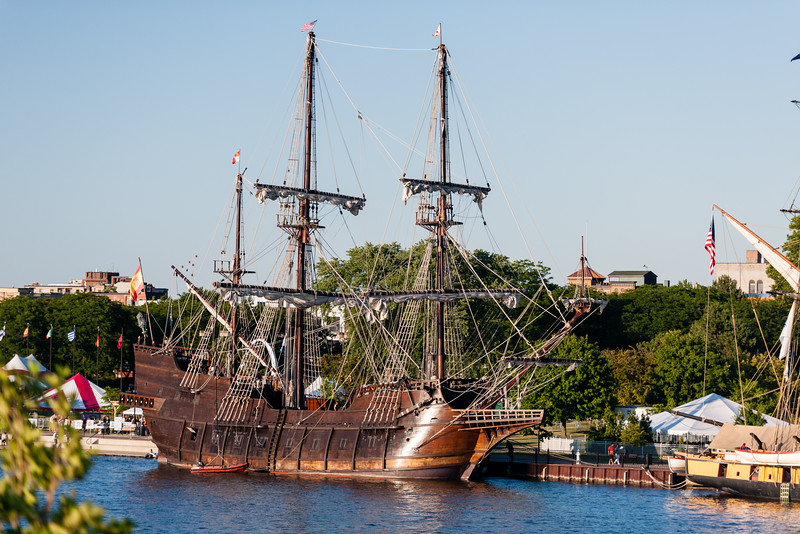 Tall ships.  Bay City, Michigan.