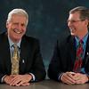 Valassis CEO Rob Mason (L) and Chairman of the Board Al Schultz