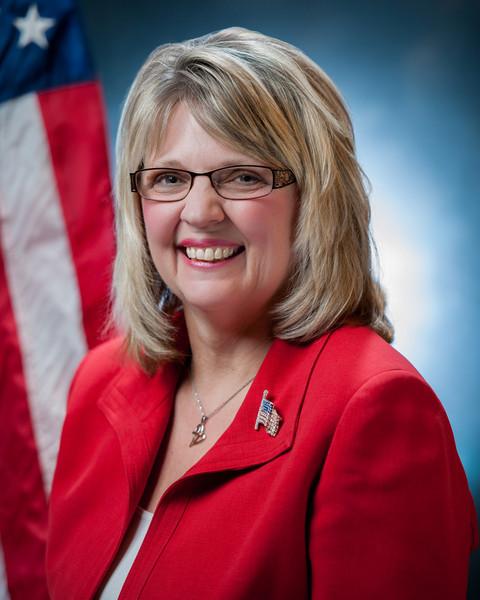 Jan (Cischke) Peabody portrait for her campaign for State Representative.