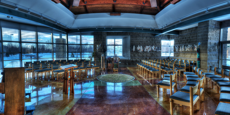 The small chapel, Christ the Redeemer Catholic church, Lake Orion.