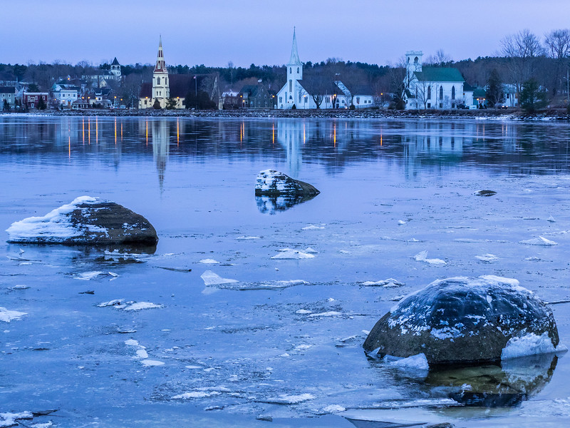 The Three Churches, Mahone Bay