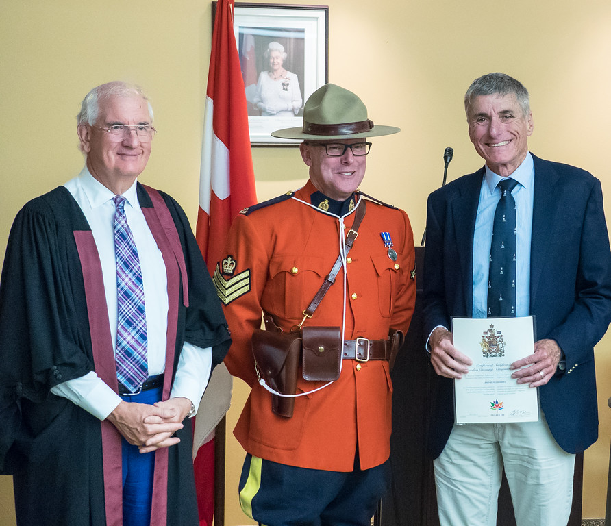 And a few weeks after we got back from our cruise, I was honoured to become a Canadian citizen.