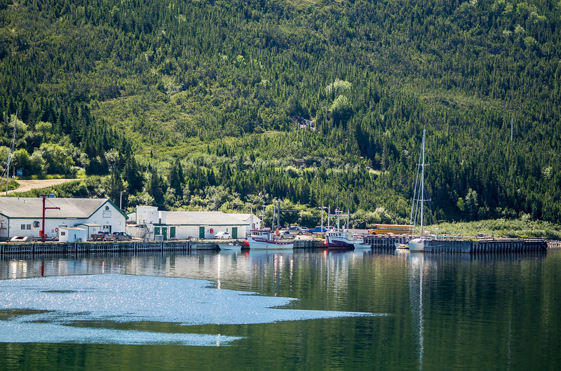 In 2003 we were chased into Fox Harbour by a building nor'east gale, but were not allowed ashore because we had not cleared in to Canada after our transit from Greenland.<br /> <br /> But the neat fishing village looked so intriguing that we vowed to return, and this was the year.