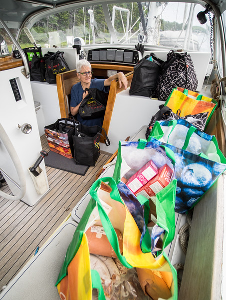 If doesn't matter how many times we get ready for a cruise, there is always a point where the task and provisioning list seems insurmountable.  <br /> <br /> Phyllis is having one of those moments.