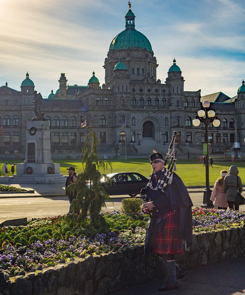 We started the year with a visit to Victoria, British Columbia, a city we were both very taken with.