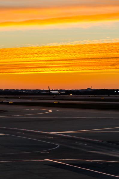 Leaving at Sunrise