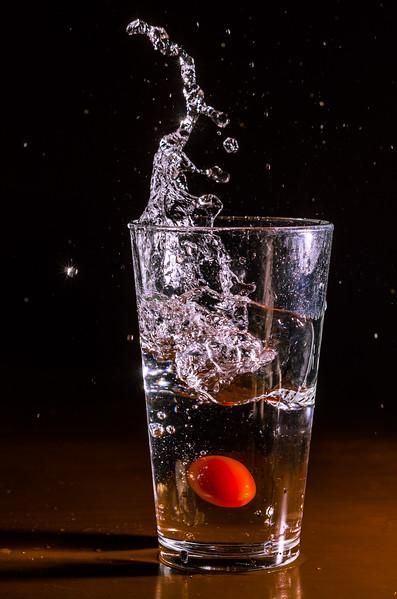 Cherry Tomato Splash