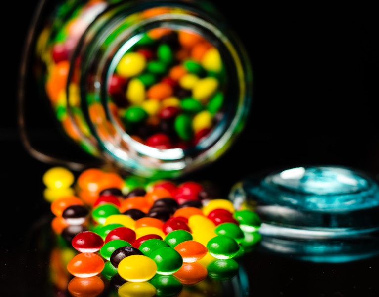 Spilled Skittles