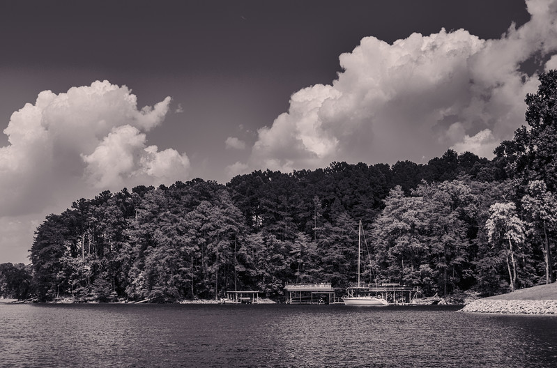 Peaceful Day at the Lake