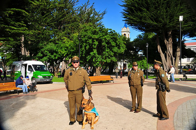 Do Chilean police look like Gestapo in green uniform or is it just me?