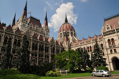 Hungarian parliament. Huge building  they built about 120 years ago. Then they realized they don't need so much space and half of it is used by other govt agencies.