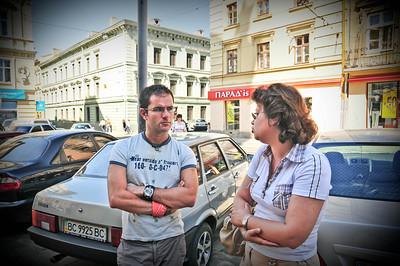 Наш гид, Алиса. Я увидел как она вела экскурсию Россиян и спросил если она делает частные. Согласились на следуйщий день. Леня остался поспать.