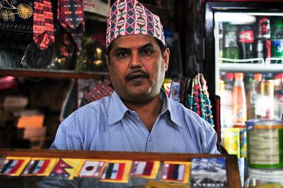 The store proprietor