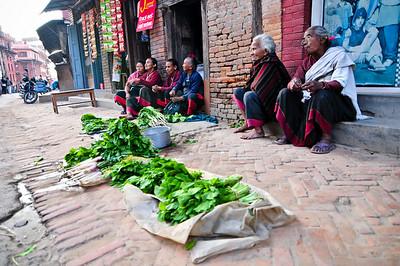 Selling lettuce
