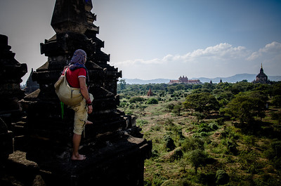 You do not just walk into Bagan!