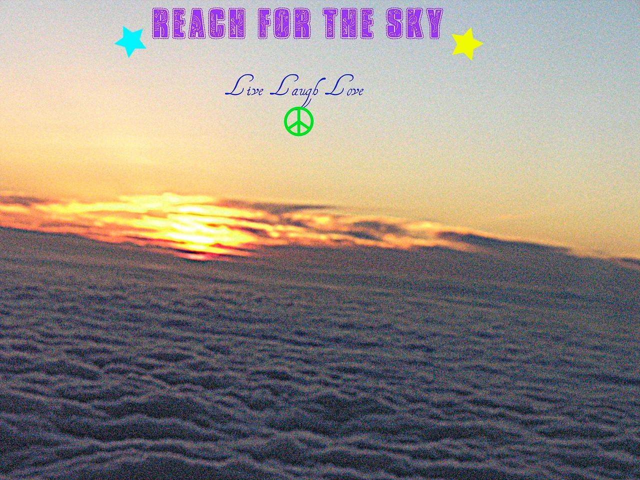 Clouds and sun picnik