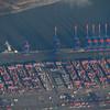 Hamburger Hafen aus der Luft
