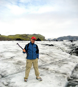 me on a glacier again