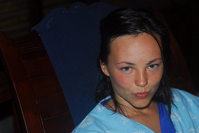 Zoya after the spa