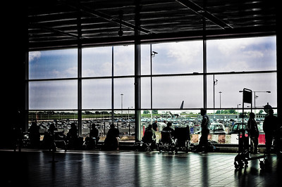 This is one of my favorite photos taken in an airport.