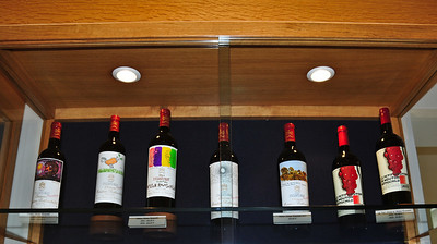 These are the cheap wines. You have to click on the photo and see original size to see prices.