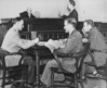 Law School - Eagle courtroom, University Archives, 1950, call number: 85Y:1(1)