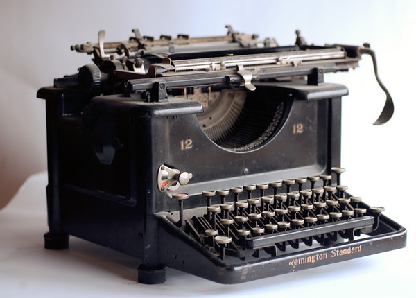 08453 University Archives, Francis Striker Collection typewriter